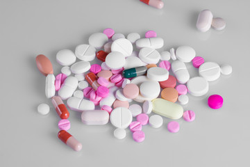 diferent Tablets pills