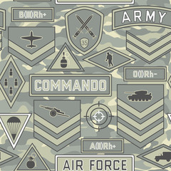 seamless military pattern 11