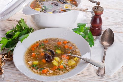 Krupnik – Polish Pearl Barley Soup