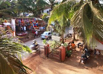 Baga. Goa. India