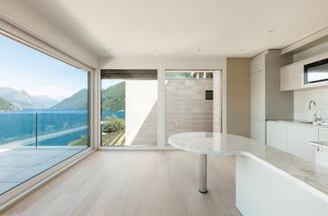 beautiful modern house, kitchen