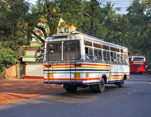 Road near the Ponda. Goa. India