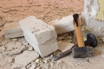 Hammer und Meißel/ Variation