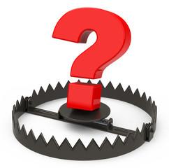 the question mark trap