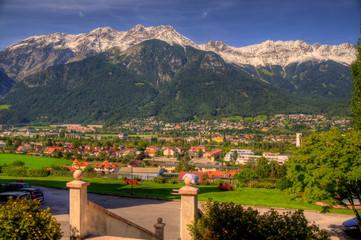 Innsbruck mit Nordkette