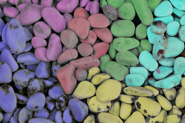 collection of colored stones