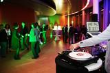 Fototapety Plattenspieler,Disjockey,DJ,Tanzfläche