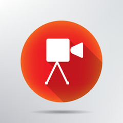 Video camera icon.