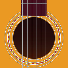 Six-string guitar