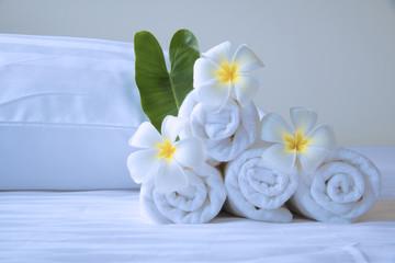 Well prepared spa in luxury hotel