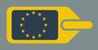 European luggage label