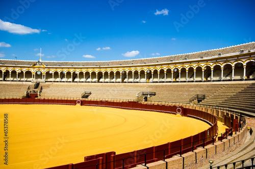 Foto op Canvas Stadion Seville, Plaza de toros, Spain