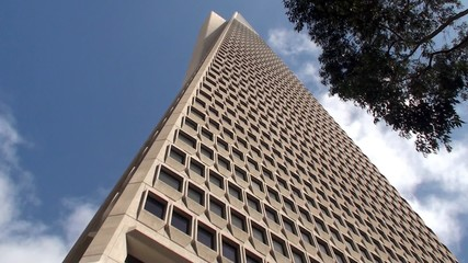 Transamerica Pyramid. San Francisco, California, USA.