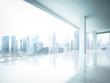 bright empty office interior - 65379777