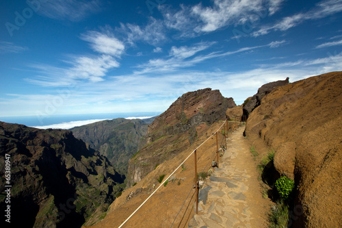 canvas print picture Himmelsweg, Madeira