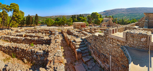 Ruins of Ancient Knossos Palace