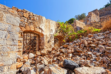Old Ruins on the Crete.