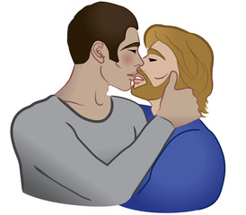 Bacio omosessuale