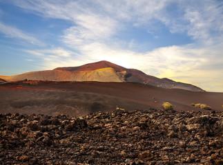 volcano on Canary