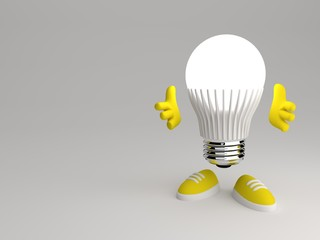 happy little man smart led grey walls