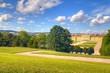 Garden of Schonbrunn Palace in Wien, Austria