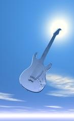 guitare en plein ciel