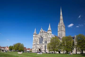Salisbury Cathedral Wiltshire England UK