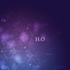 Chemistry Abstract Background