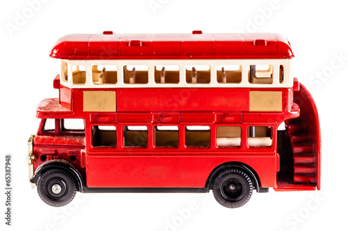 Red bus Poster