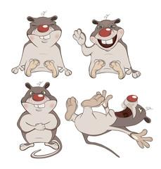 set of the hamsters cartoon