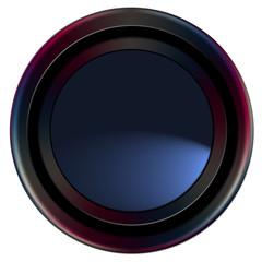 bouton web bleu profond