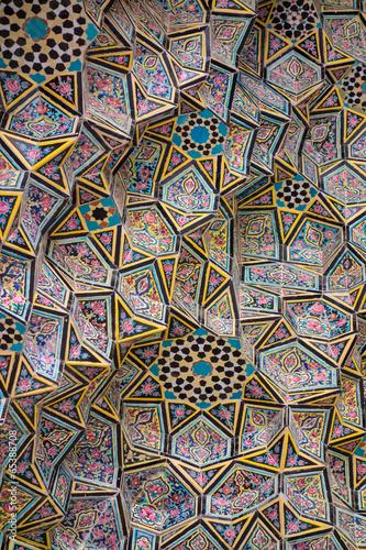 Fotobehang Midden Oosten Nasir al-Mulk Mosque in Shiraz