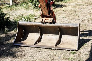 Buldozer's shovel