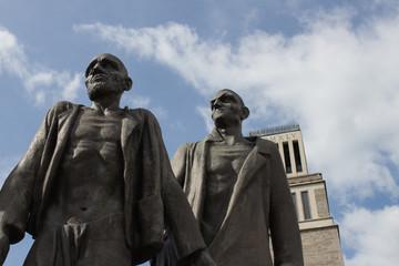 Skulpturengruppe - Buchenwald bei Weimar - Thüringen (Detail)