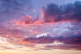 Sky with beautiful clouds at sunset - 65393985