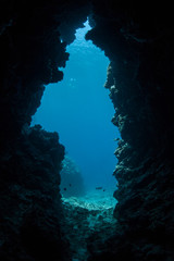 Submerged Cave