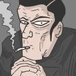 ������, ������: Smoke mystery man