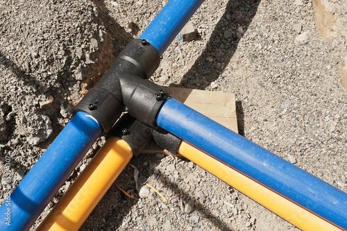 Bauarbeiten - Neue Wasserleitung und neue Gasleitung - 65394307
