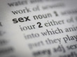 sex meaning vocabulary style