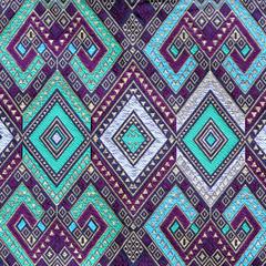 Thai silk fabric pattern
