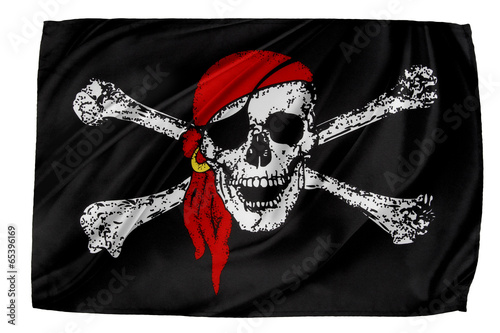 Poster Pirate flag
