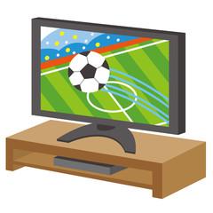TV サッカー 観戦