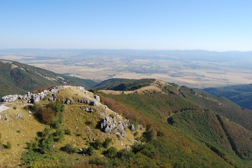 The Balkan Mountains