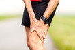 Runner leg knee pain injury