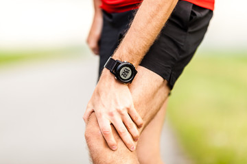 Runners leg knee pain injury