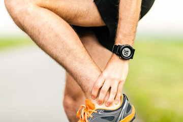 Runners knee leg ankle pain injury