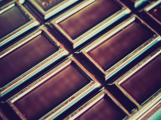 Retro look Chocolate