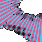 Fototapety Abstract comic art background