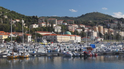Imperia harbor, Italy