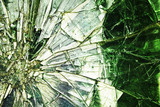 Broken glass. Abstract background - 65402910